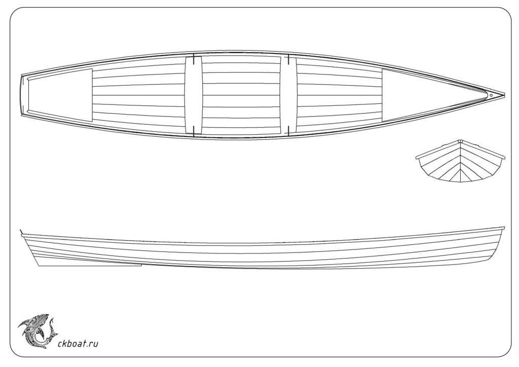 Фанерная лодка Annapolis Whery