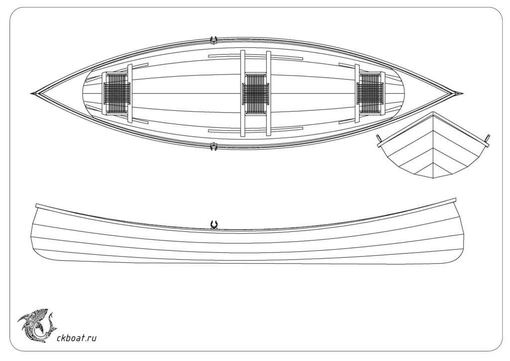 Фанерная лодка Adirondack