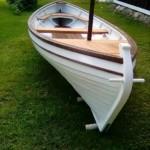 Лодка малая ладожская сойма. Мастер И. Расчётин