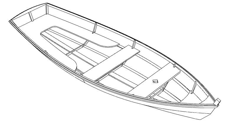 Фанерная лодка Илм