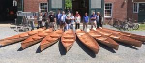 Лодка annapolis wherry школа судостроения