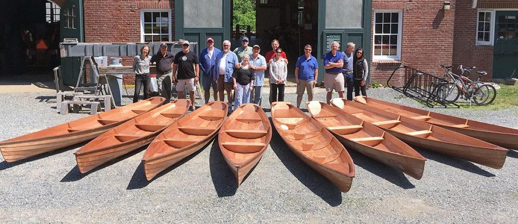 чертеж гребной лодки annapolis wherry школа