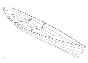 Фанерная лодка Annapolis Wherry