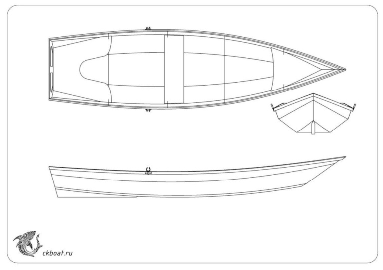 Лодка из фанеры чертежи выкройки