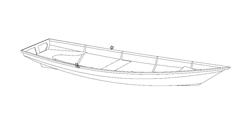 Лодка Gypsy из фанеры чертеж выкройки