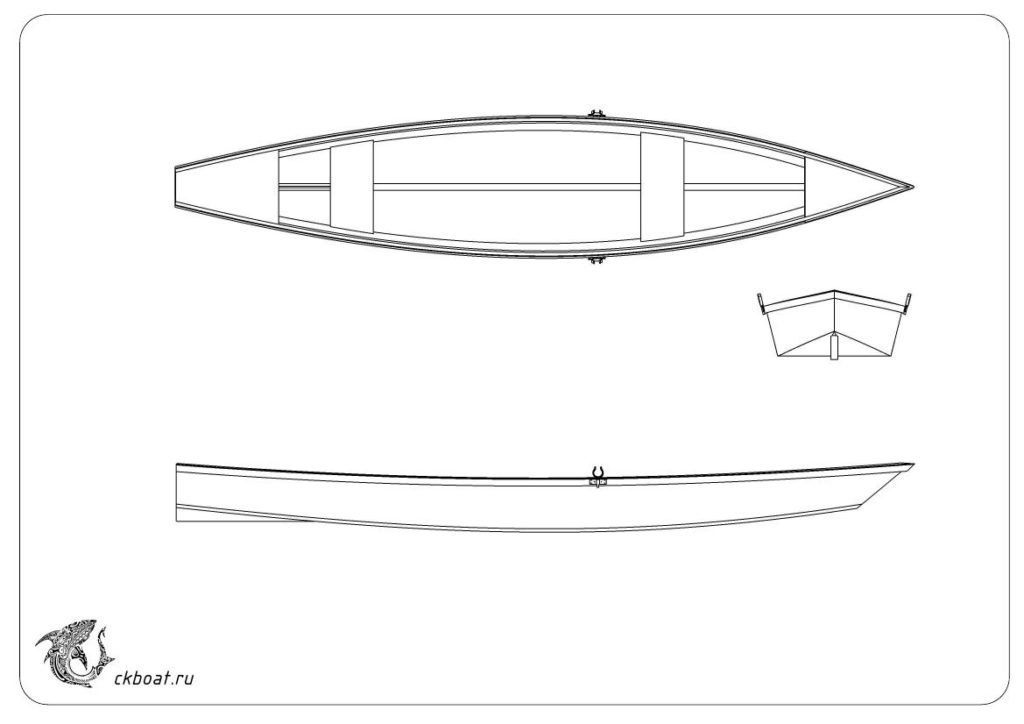 Лодка плоскодонка из фанеры