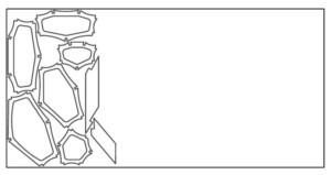 Секции каяка на листе фанеры
