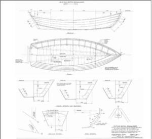 Теоретический чертеж американского скифа