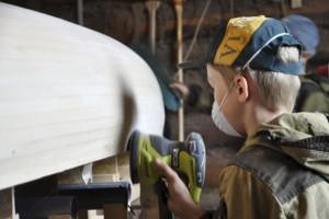 Изготовление лодок каноэ из рейки