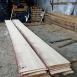 лодка из дерева, доски обшивки корпуса
