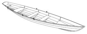 Лодка своим руками чертежи гички