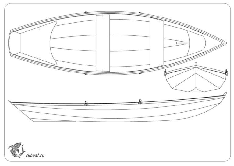 самодельная лодка из фанеры Дори
