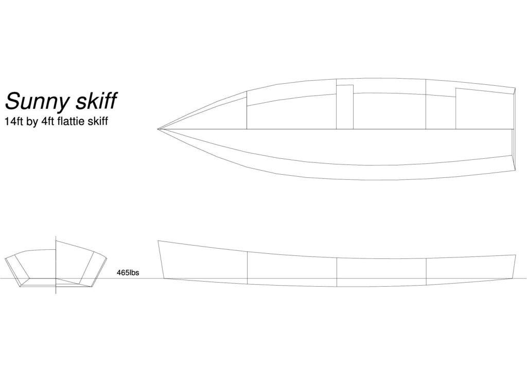 лодка скиф