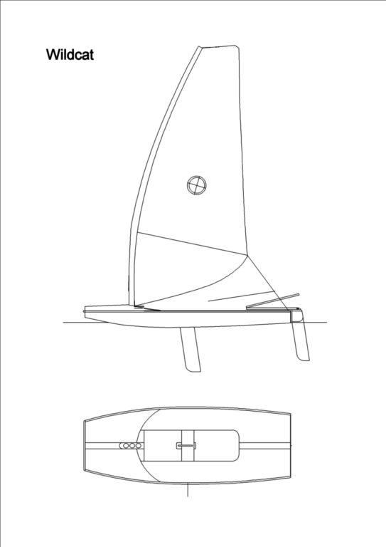 парусная лодка Wildcat