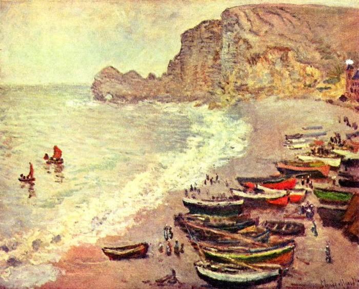 Лодки в живописи