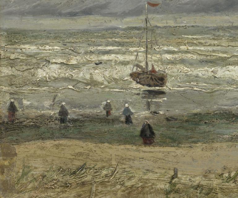 лодки на картинах