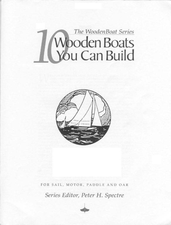 проекты деревянных лодок