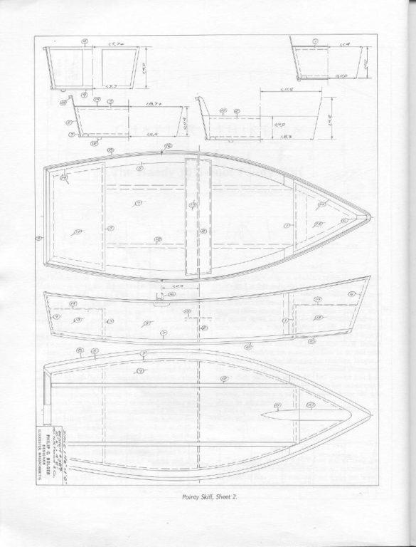чертежи самодельных лодок