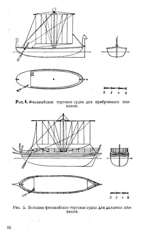 паруса над океанами финикийское судно