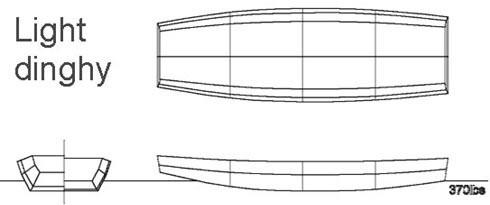 скачать чертеж лодки