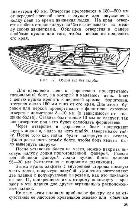 самодельные лодки общий вид