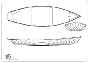 лодка дори общий вид