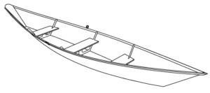гребная лодка из фанеры
