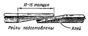 как сделать лодку из рейки