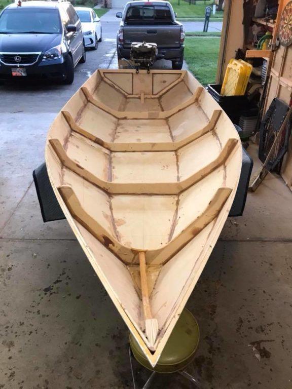 Постройка фанерной лодки