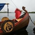 поход на лодке ростра