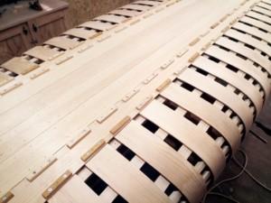 каноэ обшивка планками