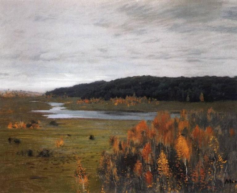 Долина реки. 1895г