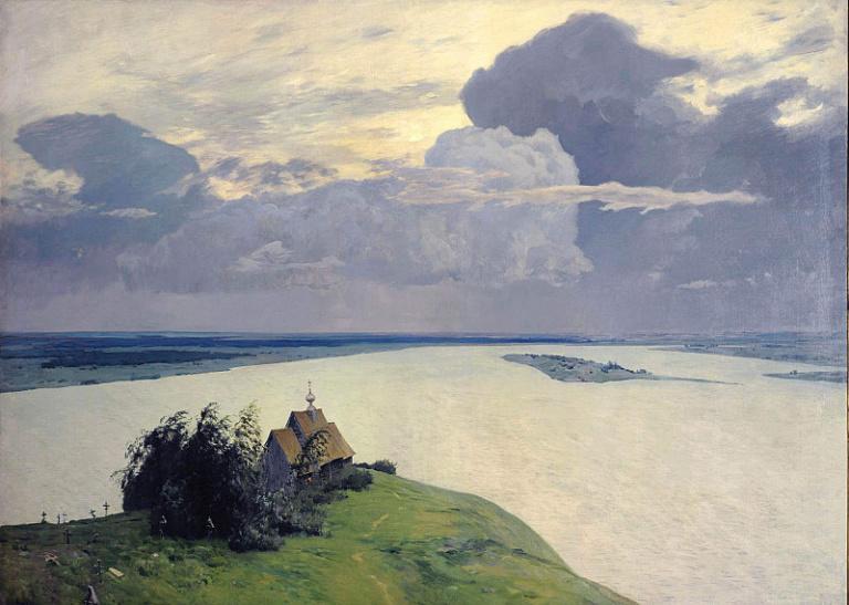 Над вечным покоем. 1894г.