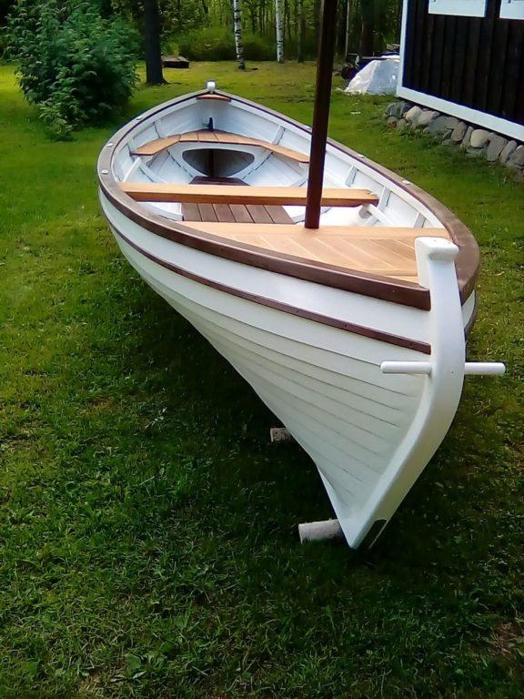 Онежская сойма лодка