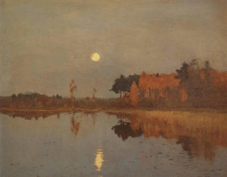 Сумерки. луна. 1899г.