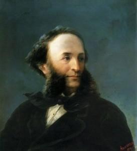 И.К. Айвазовский. Автопортер. 1874г.