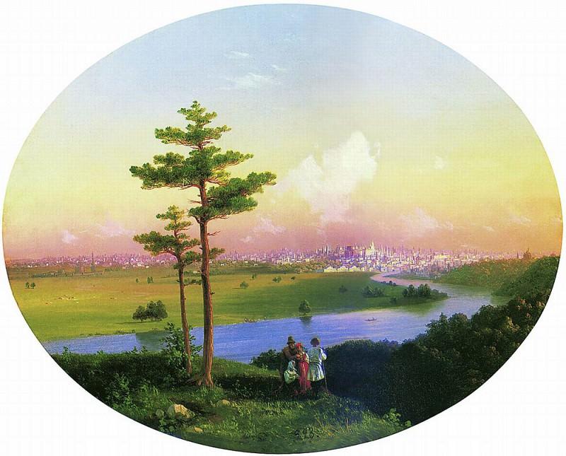 Вид на Москву с Воробьёвых гор