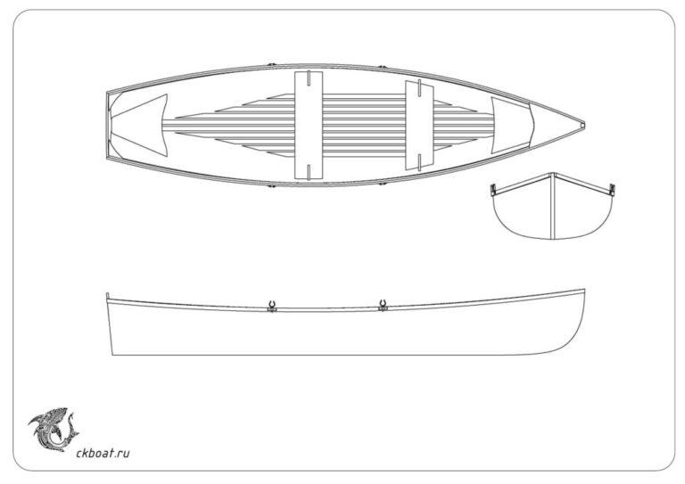 Лодка из рейки W518