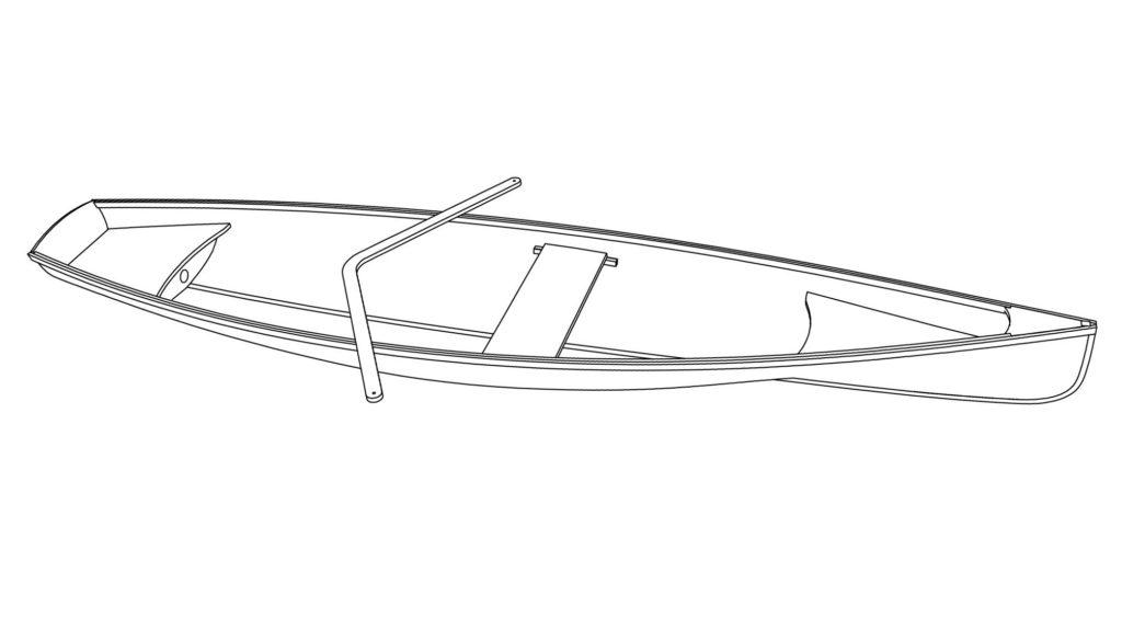 Гребная лодка Аравана
